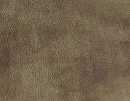 Coupon de cuir de chèvre marron doré
