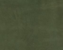 Coupon de cuir de chèvre nubuck kaki