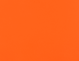 Coupon de cuir d'agneau nappa orange fluo