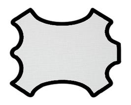 Peau de vachette imprimée ivoire