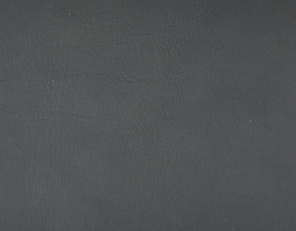 Coupon de cuir d'agneau nappa gris foncé