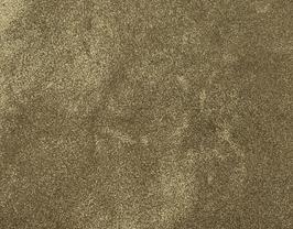 Coupon de cuir de veau nubuck doré métallisé