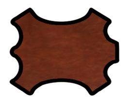 Collet de vachette marron