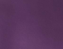 Coupon de cuir d'agneau violet métallisé