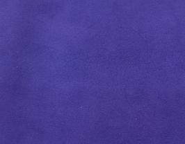 Coupon de cuir d'agneau velours violet