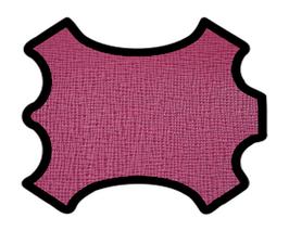 Peau de vachette imprimée lie de vin