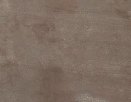 Morceau de cuir de veau nubuck doré foncé vintage