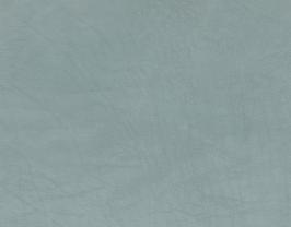 Morceau de cuir de vachette grainé vert de gris
