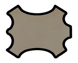 Peau de mouton nappa sable