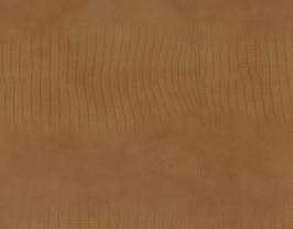 Morceau de cuir de vachette camel imprimé crocodile
