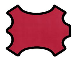 Peau d'agneau velours rose