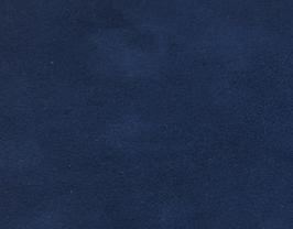 Coupon de cuir de veau velours bleu marine