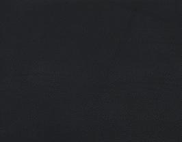 Morceau de cuir de vachette grainé noir