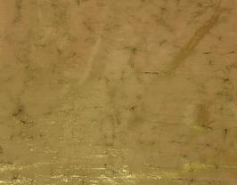Morceau de cuir de vachette doré vintage