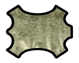 Peau de chèvre doré clair