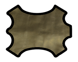 Peau de mouton bronze