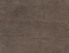 Morceau de cuir de veau nubuck doré foncé