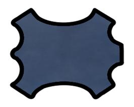 Peau de chèvre bleu navy