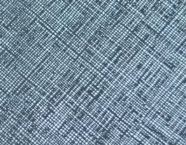 Coupon de cuir de vachette bleu clair métallisé