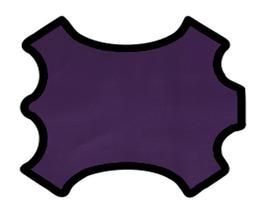 Peau de chèvre violet métallisé