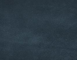 Coupon de cuir d'agneau velours bleu canard