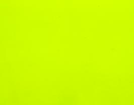 Coupon de cuir d'agneau nappa jaune fluo