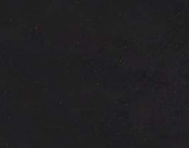 Coupon de cuir d'agneau velours noir mat