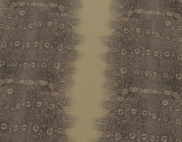 Morceau de cuir de vachette gris et beige imprimé serpent