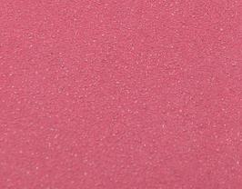 Coupon de cuir de veau rose pailleté