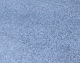 Coupon de cuir d'agneau nappa bleu métallisé