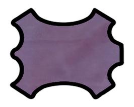 Peau d'agneau violet