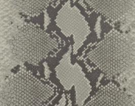 Morceau de cuir de chèvre marron et beige imprimé python