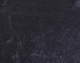 Morceau de cuir d'agneau bleu métallisé