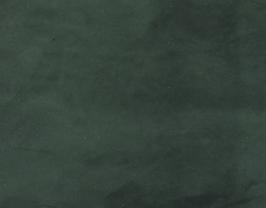 Morceau de cuir de baby veau velours vert forêt