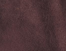 Coupon de cuir d'agneau rouge foncé métallisé