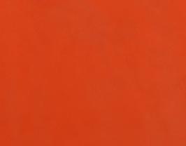 Morceau de cuir de vachette orange