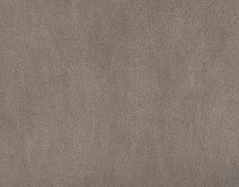 Coupon de cuir de vachette argent antique