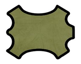 Peau de chèvre nubuck vert pistache