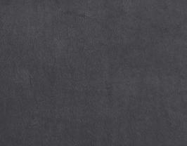 Morceau de cuir de vachette nubuck gris
