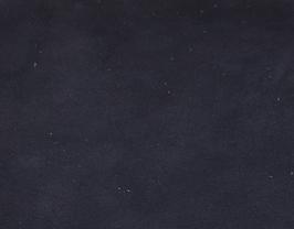 Coupon de cuir d'agneau velours bleu nuit