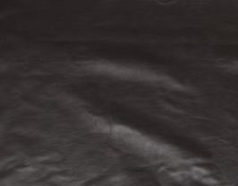 Morceau de cuir de vachette nappa marron foncé