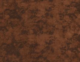Morceau de cuir de vachette velours marron imprimé