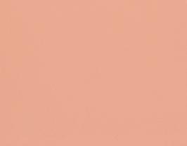 Coupon de cuir de vachette rose pêche vernis