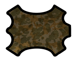 Peau d'agneau camouflage