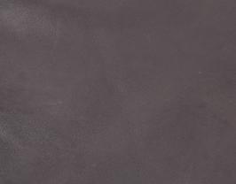 Morceau de cuir de chèvre velours marron foncé