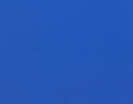 Coupon de cuir d'agneau nappa bleu électrique