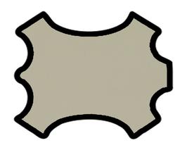 Peau de mouton nappa beige