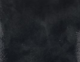 Coupon de cuir de vachette gris foncé marbré