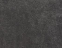 Morceau de cuir de vachette velours noir