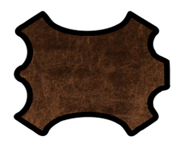Peau d'agneau bronze